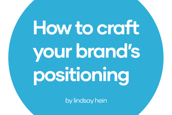 how to craft your brands positioning